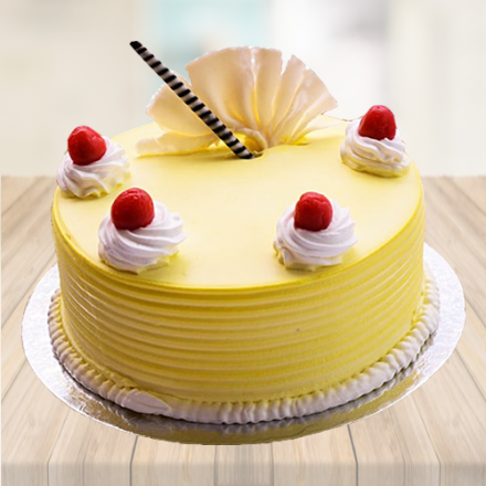 Surprising 500 Gm Pineapple Birthday Cake Personalised Birthday Cards Akebfashionlily Jamesorg