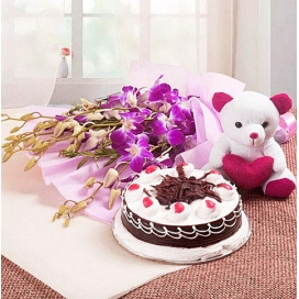 Orchids, Teddy & Cakes