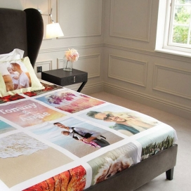 Photo Printed Bedsheets