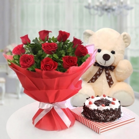 Roses, Teddy & Cakes